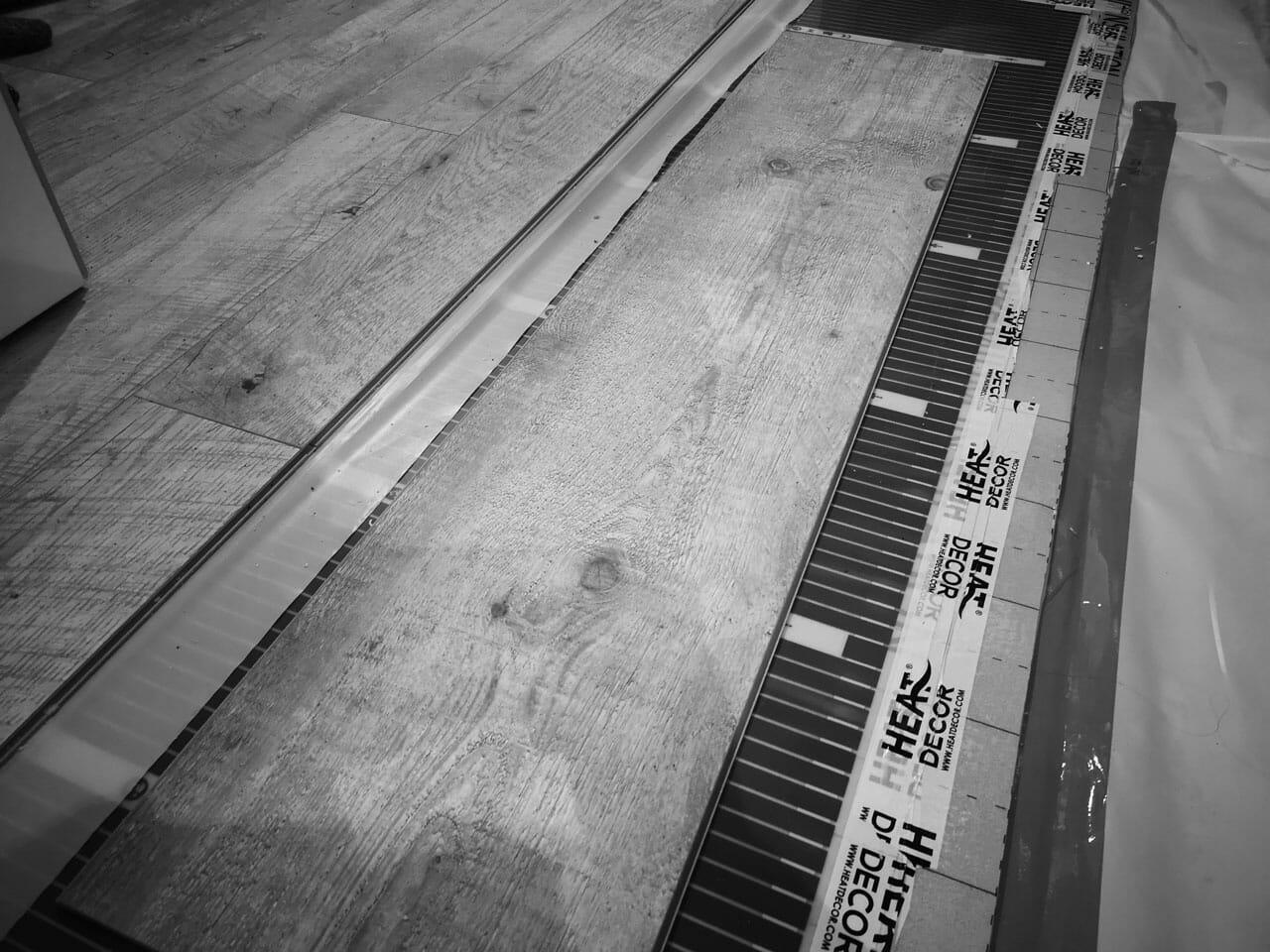 Ocieplenie podłogi płytami PIR